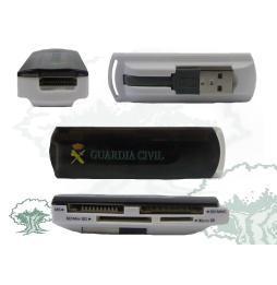 Lector de tarjetas USB 2.0 Multitarjeta